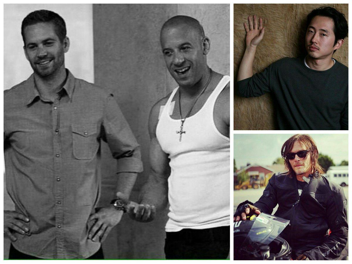 ALWAYS AND FOREVER, MY BABIESSS. #MarkSinclairVincent #PaulWalker #NormanReedus #StevenYeunpic.twitter.com/ojPh4NP2IY