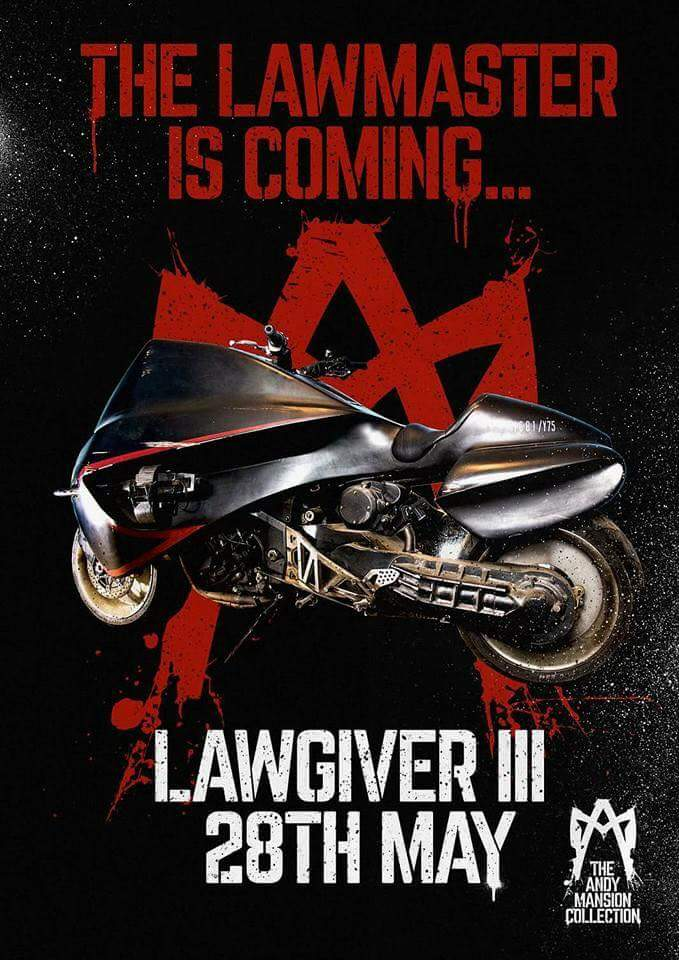 Cannot wait. All the #Dredd and @2000AD fans going are in for a treat. @lawgiver32 https://t.co/I5yGvtsqls