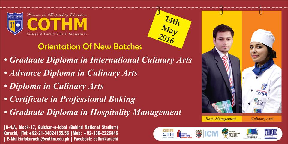 Cothm Karachi On Twitter Orientation Of New Batches Has Been