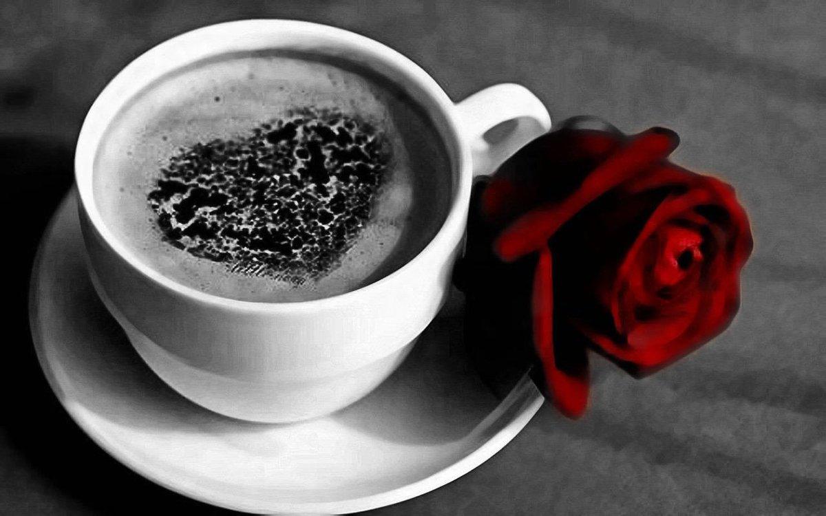 Resultado de imagen de cafe con besos