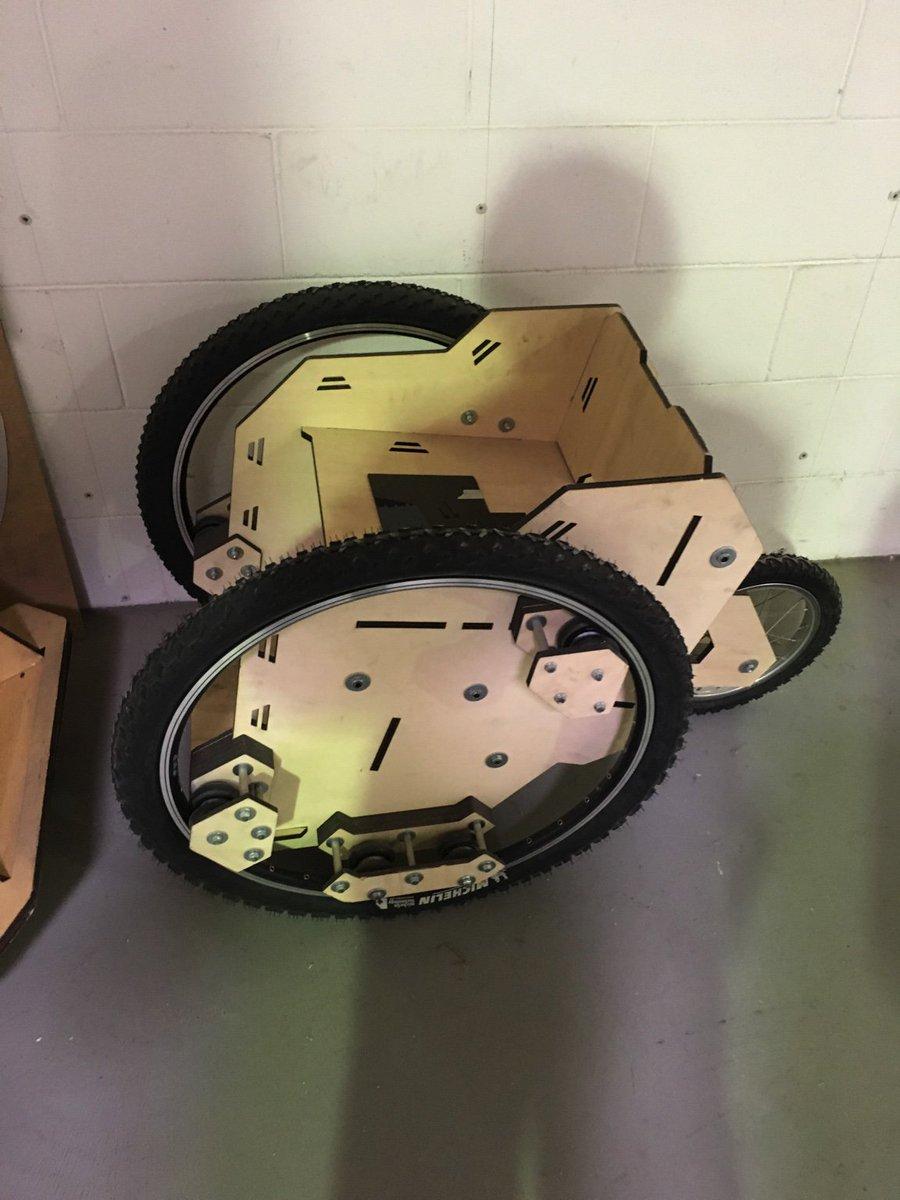 Open-source, 3D-Printed wheelchair. #FabLab #CasaJasmina https://t.co/K130MnWK4V