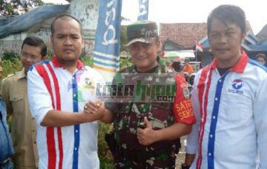 Ketua KM Perindo Subang Ajak Pejabat  Ikuti Jejak Dandim