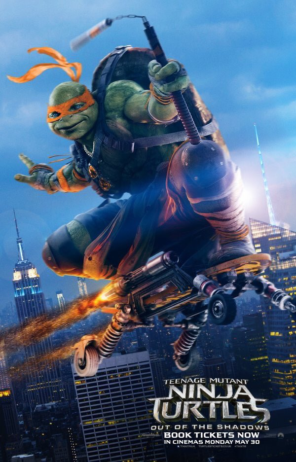 Final Teenage Mutant Ninja Turtles: Out of the Shadows Trailer 3