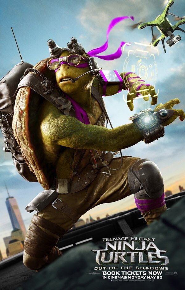 Final Teenage Mutant Ninja Turtles: Out of the Shadows Trailer 4