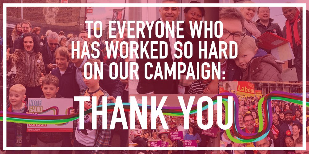 A huge thank you to everyone who voted Labour, volunteered today or campaigned with us. #TeamKhan https://t.co/Igv7BCHbJ1