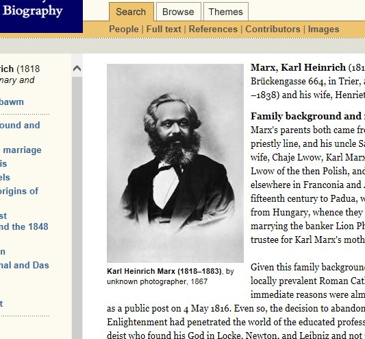Karl Marx was born #onthisday in 1818. His @odnb life is by Eric Hobsbawm https://t.co/Qiq3amcSIs #twitterstorians https://t.co/3qcOKk7kyB
