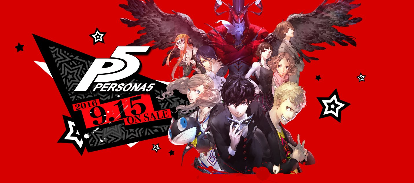 Persona 5 Releases Sep 15 Game Ps4 Region 3 English