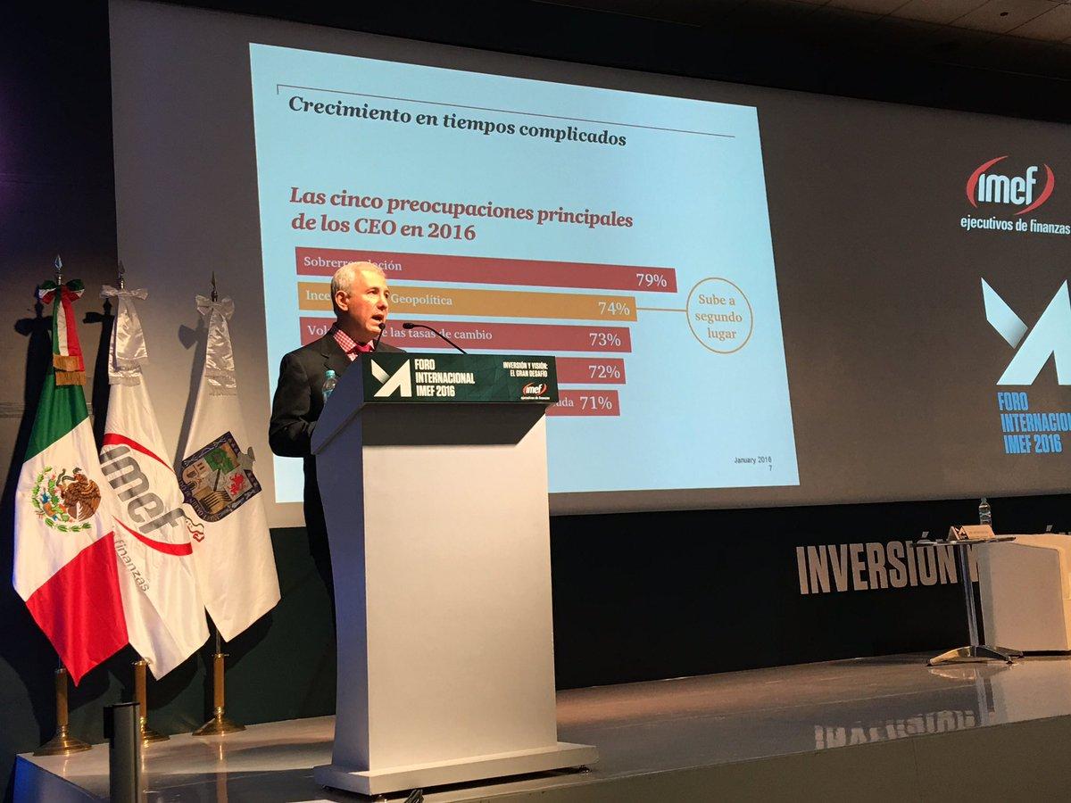 Presentación de @JAntonioQuesada dentro del foro internacional IMEF @IMEFOficial https://t.co/hBnIacyYWX