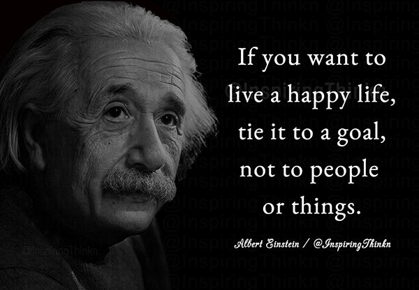 "Albert Einstein Twitter: Roy T. Bennett On Twitter: ""If You Want To Live A Happy"