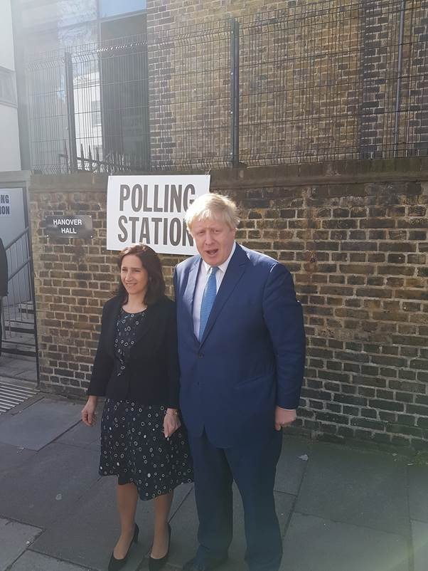 #iVoted in the election @MayorofLondon - it's been an honour to lead the Greatest City on Earth for the last 8 yrs https://t.co/gHqoAa8CFq