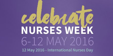 Nurses Week officially starts tomorrow! How will you and your colleagues be celebrating? #STTINursesWeek https://t.co/I14CAFwPb8