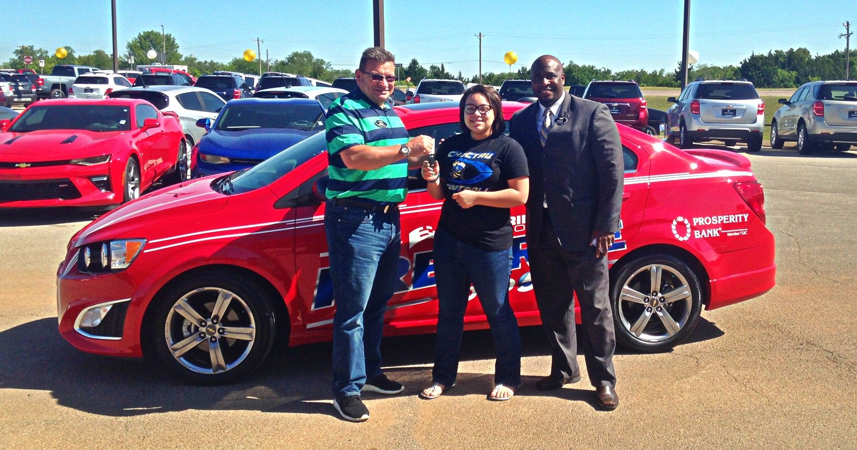 eskridge chevrolet on twitter we re proud to announce lila beasley of choctaw hs as our 2016 eskridge auto free ride winner congrats lila twitter