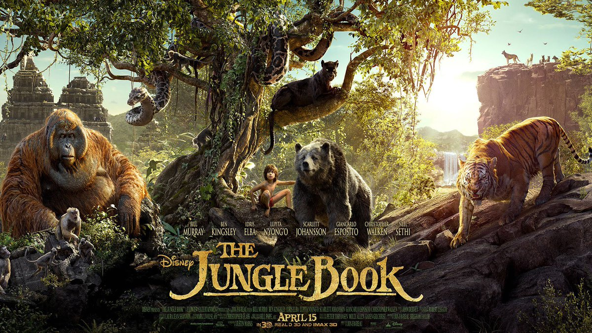 The Jungle Book develops on the original's 'bare necessities' in this visual treat.  Review: https://t.co/huLv5mOh7G https://t.co/jzaxmVy9AT