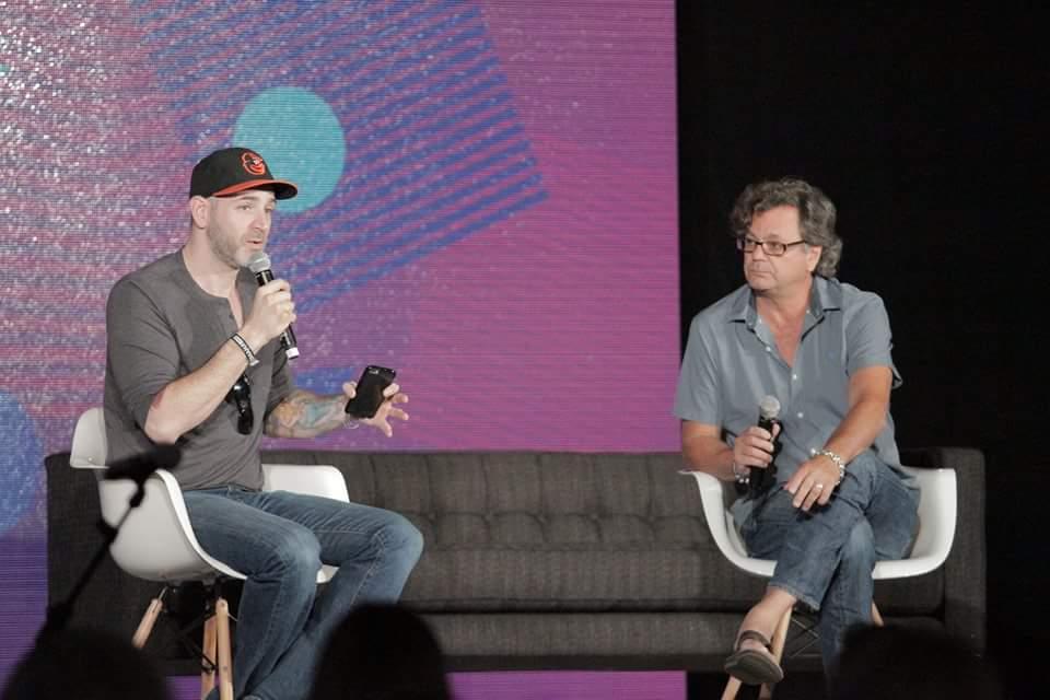 """If you want to understand entrepreneurship, try starting a band."" @MattHalpernTEI & @KevinLyman #BigOmaha https://t.co/e6pjJXJ5nK"