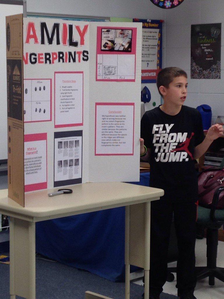 barb martin on twitter 5th grade science fair presentations