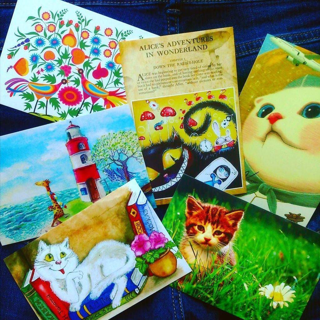 Посткросс открытки
