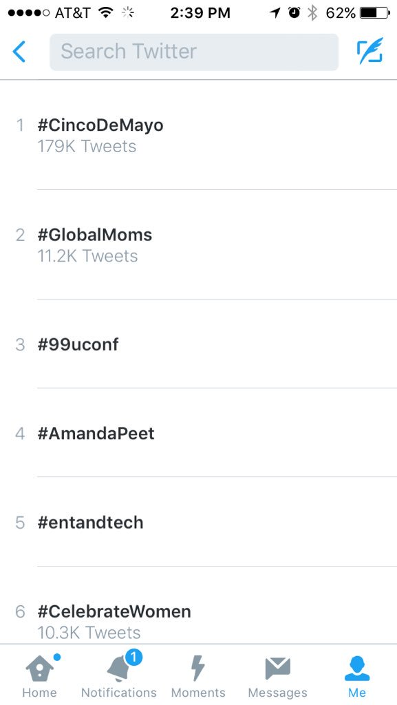 YES! #GlobalMoms is #trending!!!! https://t.co/65QF2X3KjK