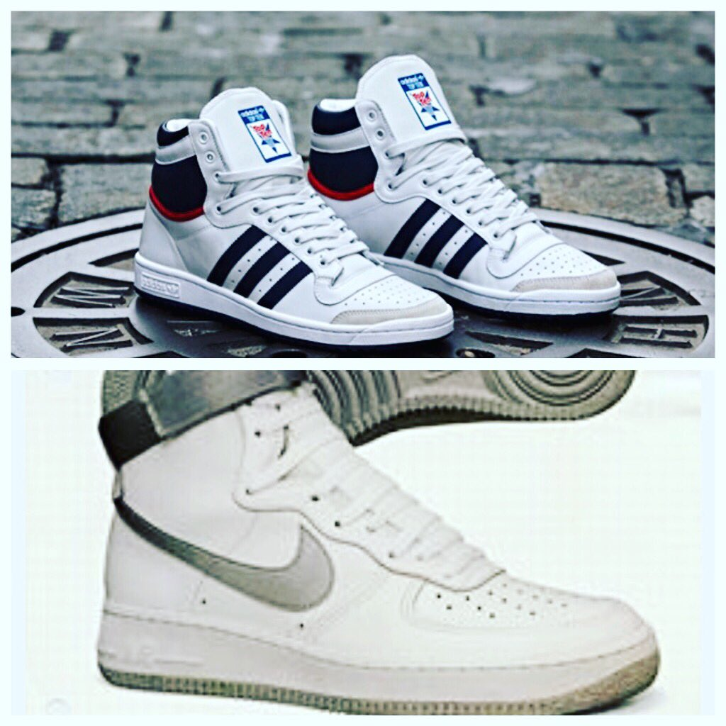 a4932b7eafa53 #TBT What are your favorite sneakers of all time? My 2 favorites are  @adidas Top Tens & @Nike Air Force Ones.pic.twitter.com/iJ6l6X0GaU