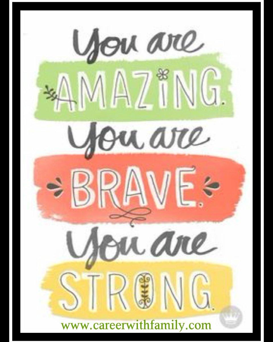 You Are Amazing: #careerwithfamily Hashtag On Twitter