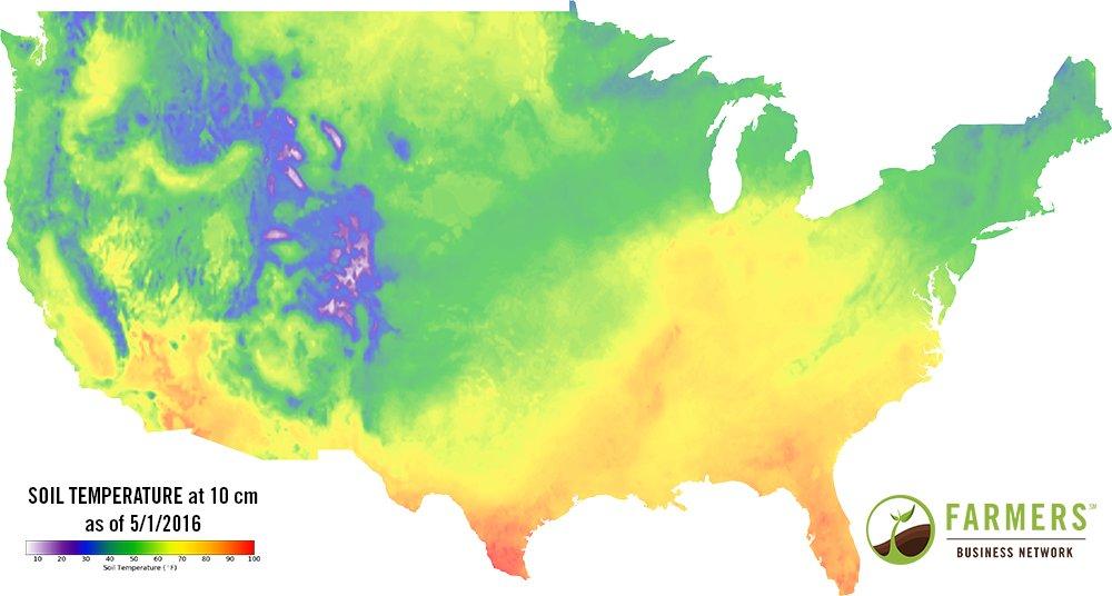 Soil Temperature Regimes Of The Contiguous United States NRCS - Us soil temperature map