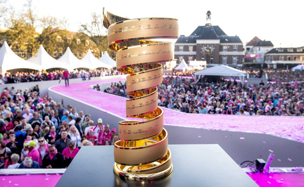 Giro d'Italia: si parte con la crono individuale di Apeldoorn in Olanda