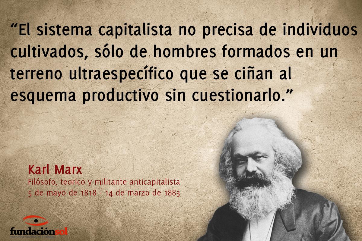Fundación Sol On Twitter Un Día Como Hoy Nace Karl Marx
