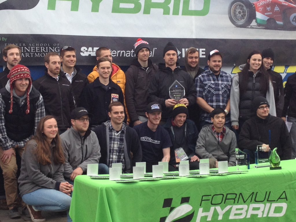 @UVicHybridTeam takes the @GMCareers @Formula_Hybrid best engineered propulsion system award #FormulaHybrid16 https://t.co/mbzQ5gtD0A