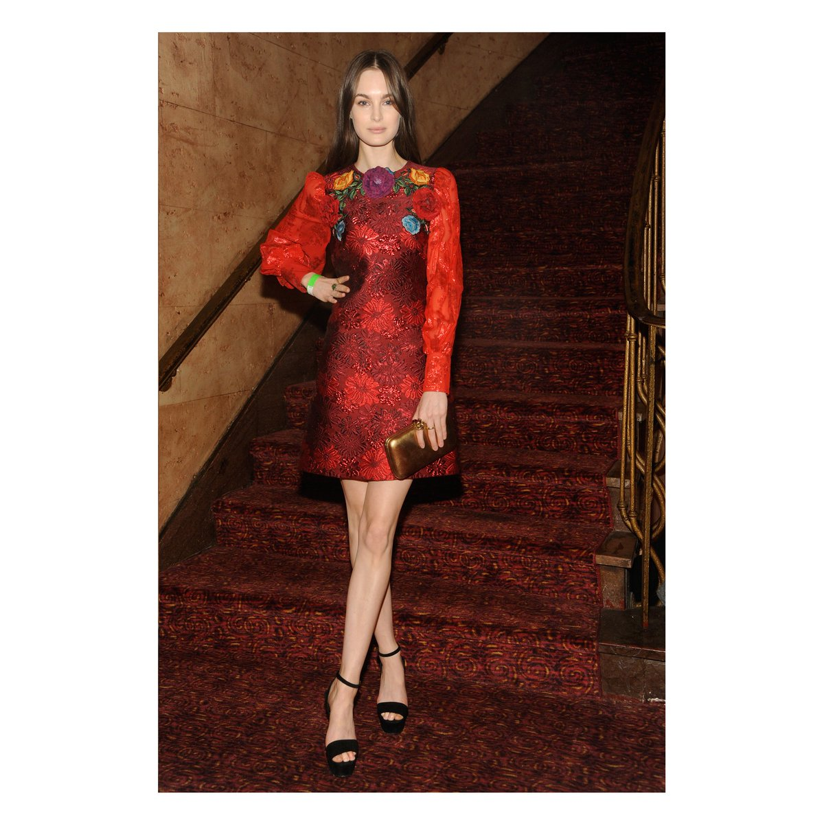 926b0a6be59 seen at gucci hosted screening of florenceandthemachines film theodyssey  liuwen in guccicruise16 dress