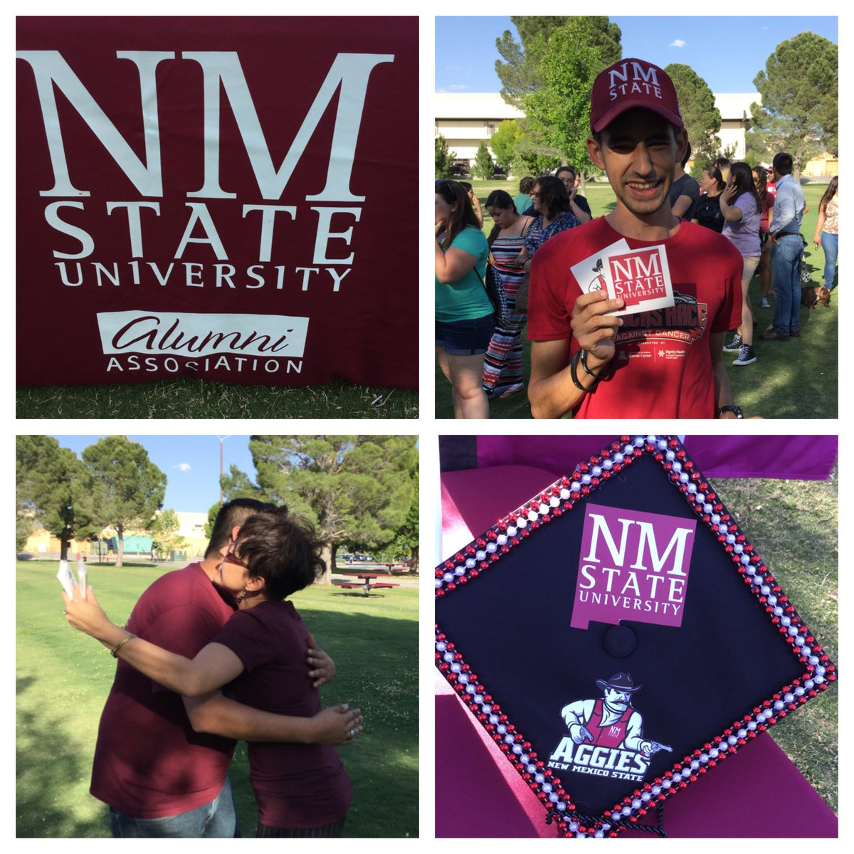 #NMSU Senior Walk. #supportnmsu #Aggies #GoAggies #nmsugrad #nmsucapcontest https://t.co/p92iQHxGBH