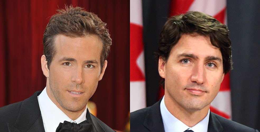 Ryan Reynolds, Justin Trudeau named among Canada's most beautiful people