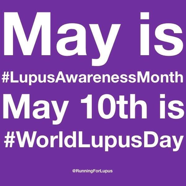 Please RT this and help raise awareness of #Lupus. Thank you!  #LupusAwarenessMonth #WorldLupusDay