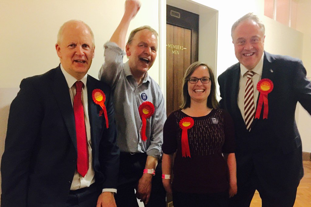 Historic victories in #Cambridge for @CambridgeLabour leader @lewis_herbert & two GAINS by @sophie4labour @sargemike https://t.co/r5ZZ9LhDi2