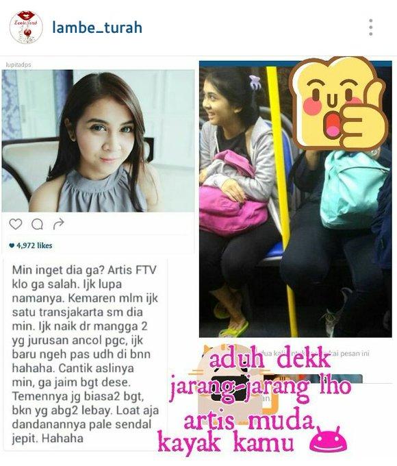 Foto Bugil Skandal Kesha Ratuliu: Sempat Dipuji Karena Naik Bus Umum, Sekarang Artis FTV Ini