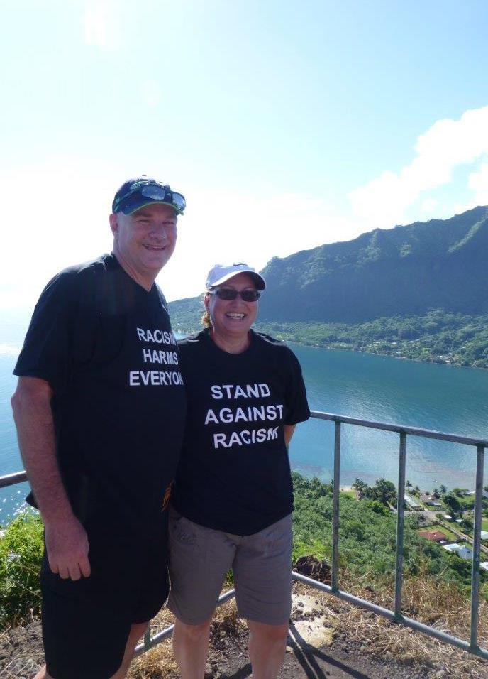 @YWCApgh staff supporting the #StandAgainstRacism all the way in Paradise Mountain Moorea! #ThanksSteve! https://t.co/t0Q6exgIZo