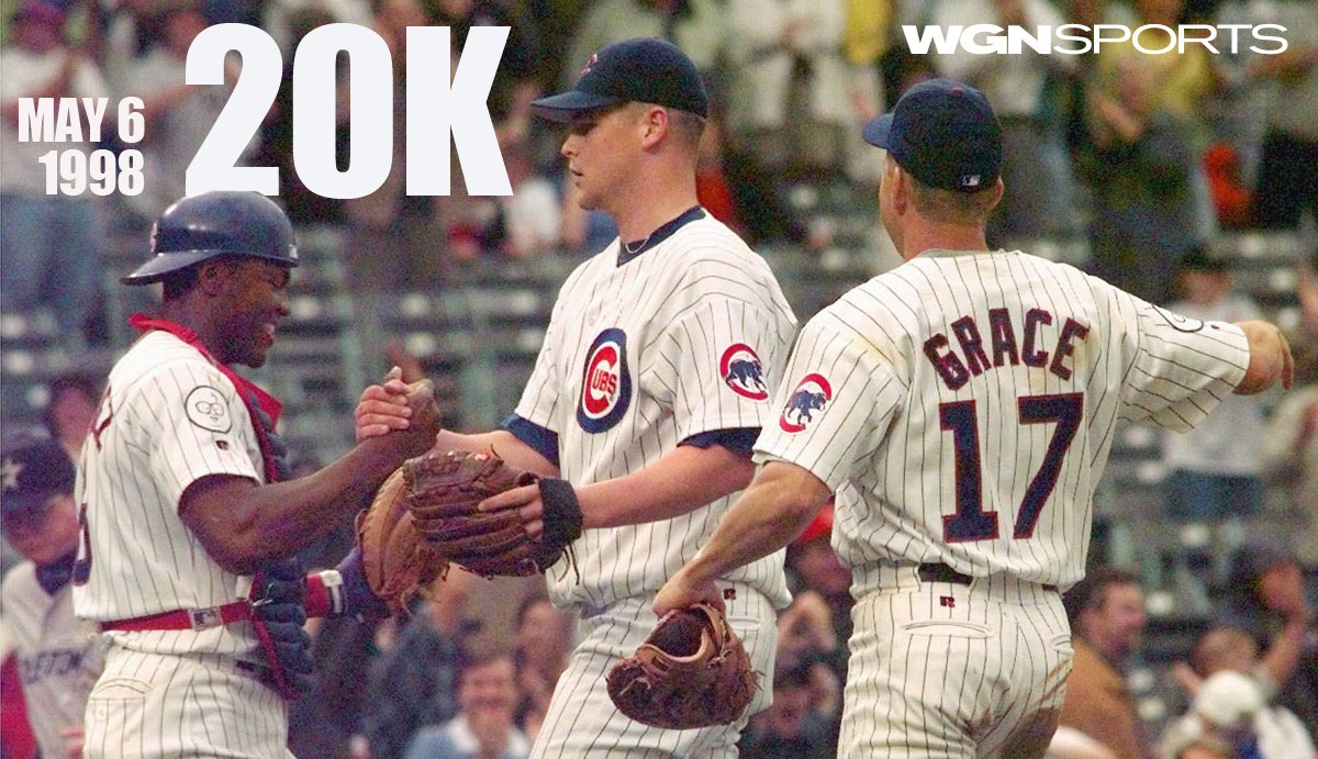 5/6/98 the #Cubs Kerry Wood struck out 20. Heres the game as seen thru WGNer who produced it https://t.co/eOZAgKViLX https://t.co/pAlVsLUv8g