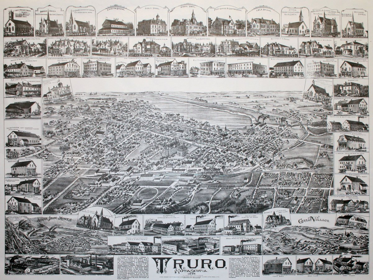 test Twitter Media - RT @NS_Archives: The Town of #Truro, #NovaScotia was incorporated on this date in 1875. https://t.co/5BbEyVg4i7