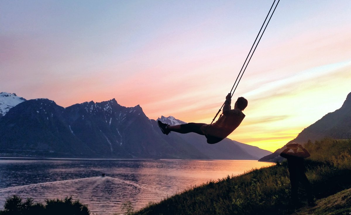 Image result for hjørundfjord swing