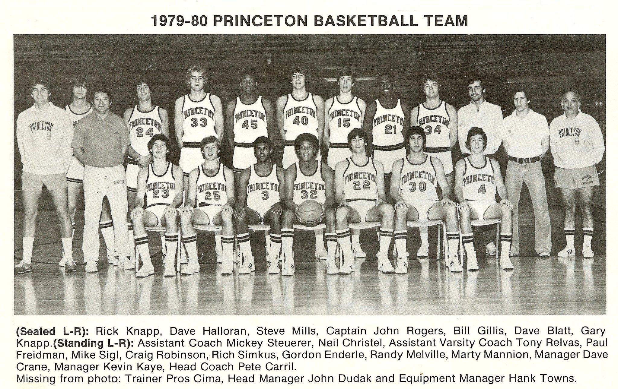 "Stefan Bondy on Twitter: ""David Blatt and Steve Mills on Princeton… """