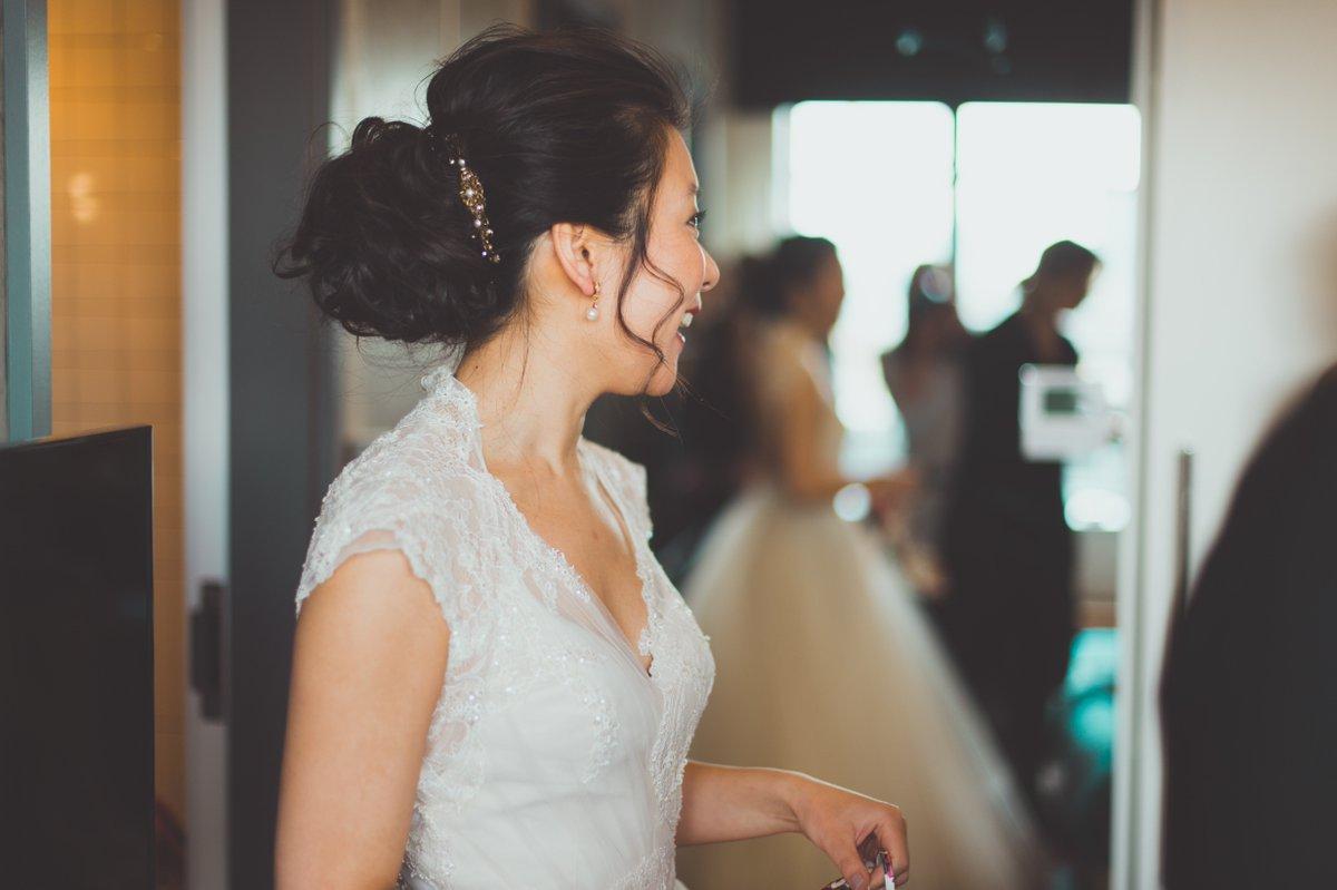 db8d8821687e Congratulation to our beautiful Bride Jennifer L. who got married in David  Fielden dress 8082