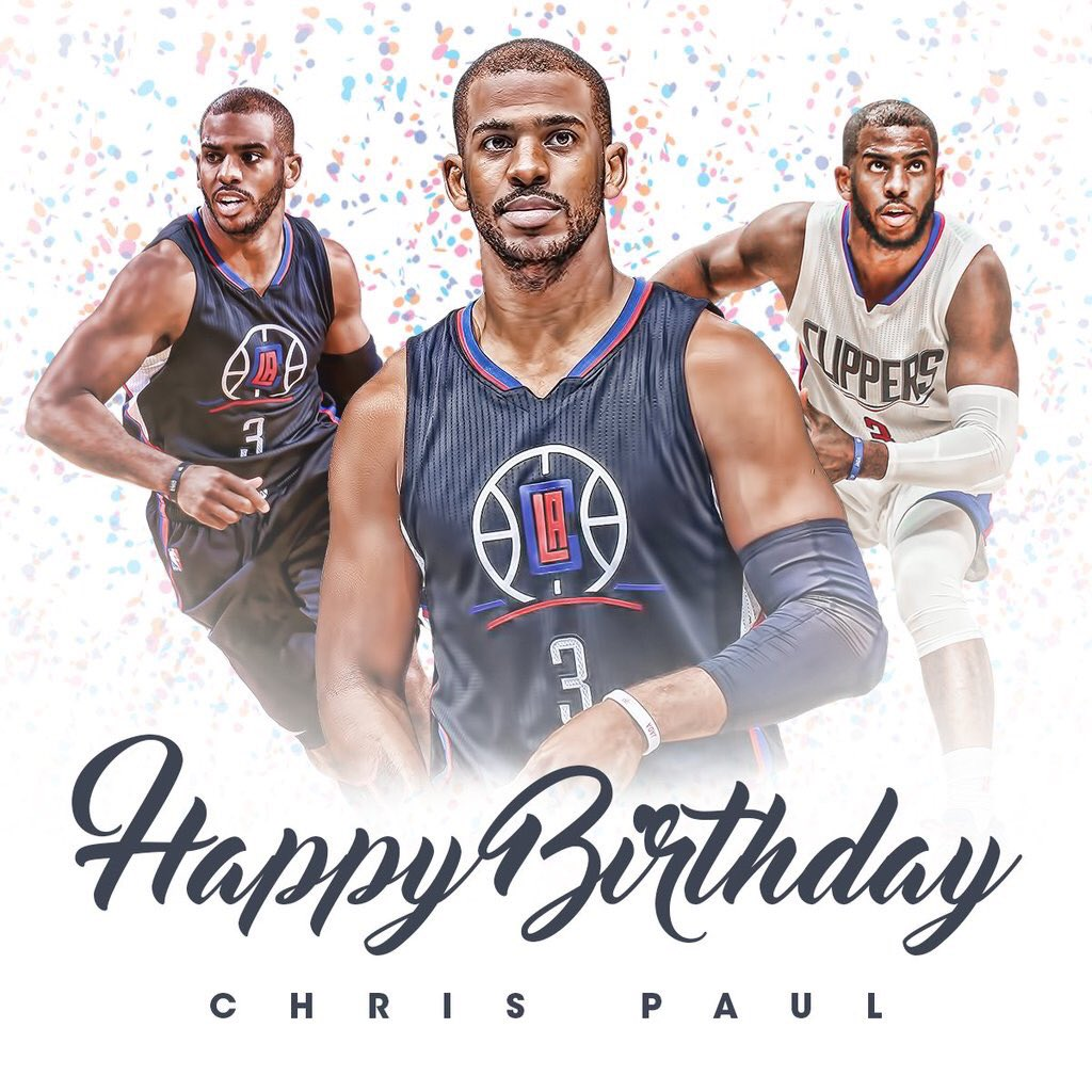 Happy Birthday @CP3!