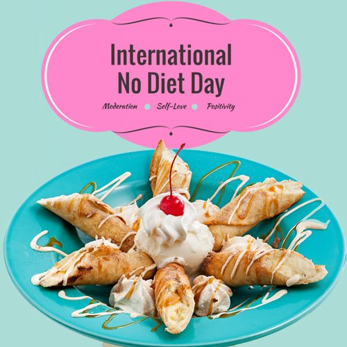 15+ Adorable International No Diet Day 2017 Pictures