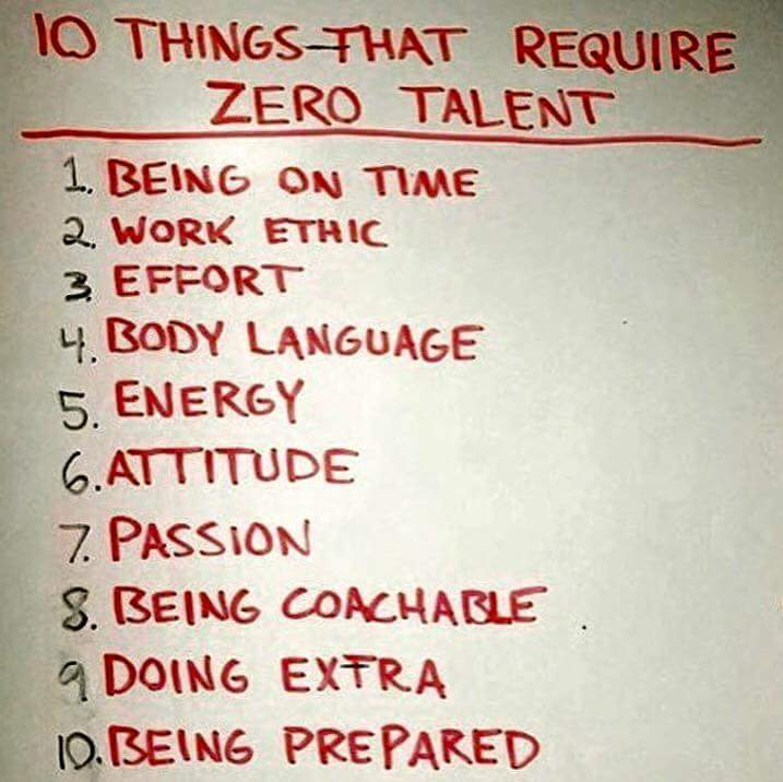 Just because you think or someone has told u, you are not talented doesn't mean you won't succeed!  #growthmindset https://t.co/ZdtSHeciXT