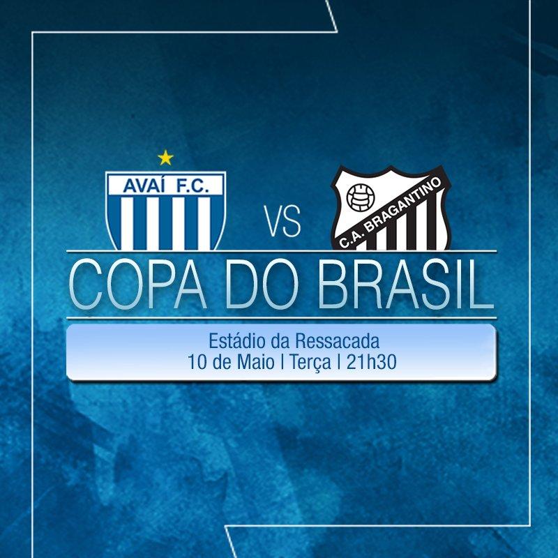 ⚽Os times #Avaí e Bragantino se enfrentam na Copa do Brasil em #Florianópolis. ⚽Ingressos: https://t.co/jAHLyc0GVK https://t.co/NLj4gjDlDR