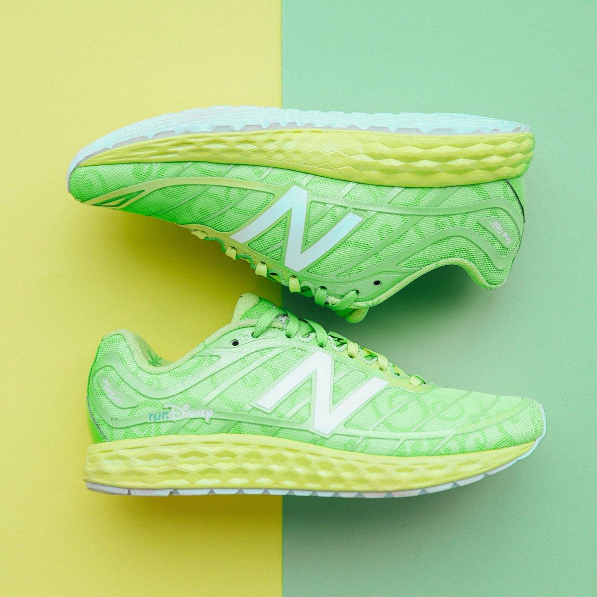 tinkerbell new balance running shoes