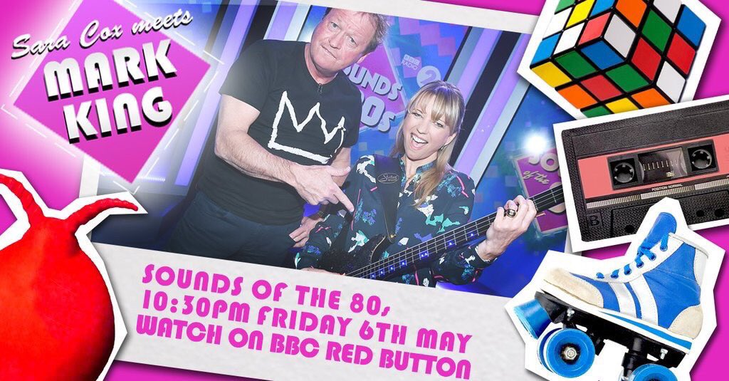 First Friday one of these tonight. Sounds of the 80s on @BBCRedButton at 2230, @sarajcox joined by @King42Mark https://t.co/FuhQYr1L1N
