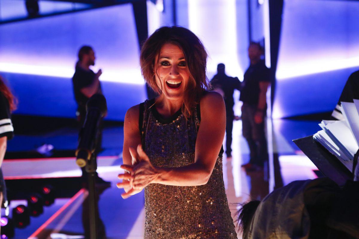 Barei realiza primer ensayo en el escenario de Eurovisión -7