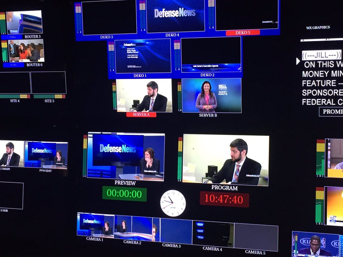 Sec Def Carter's innovation strategy, check out @defense_news TV @AaronMehta this Sunday on WJLA/ABC7 at 11a.m.