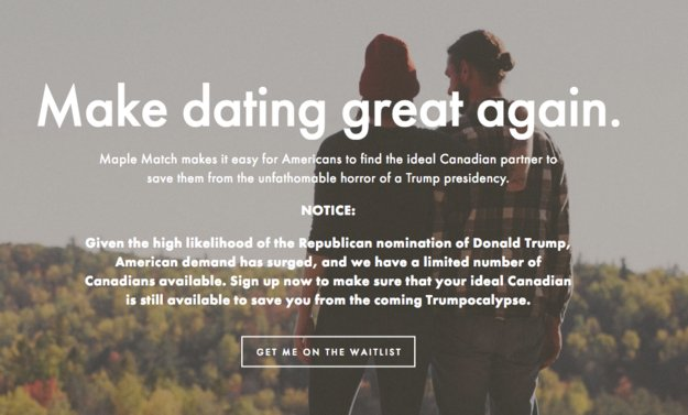 There s Now a Dating Site For Donald Trump Fans