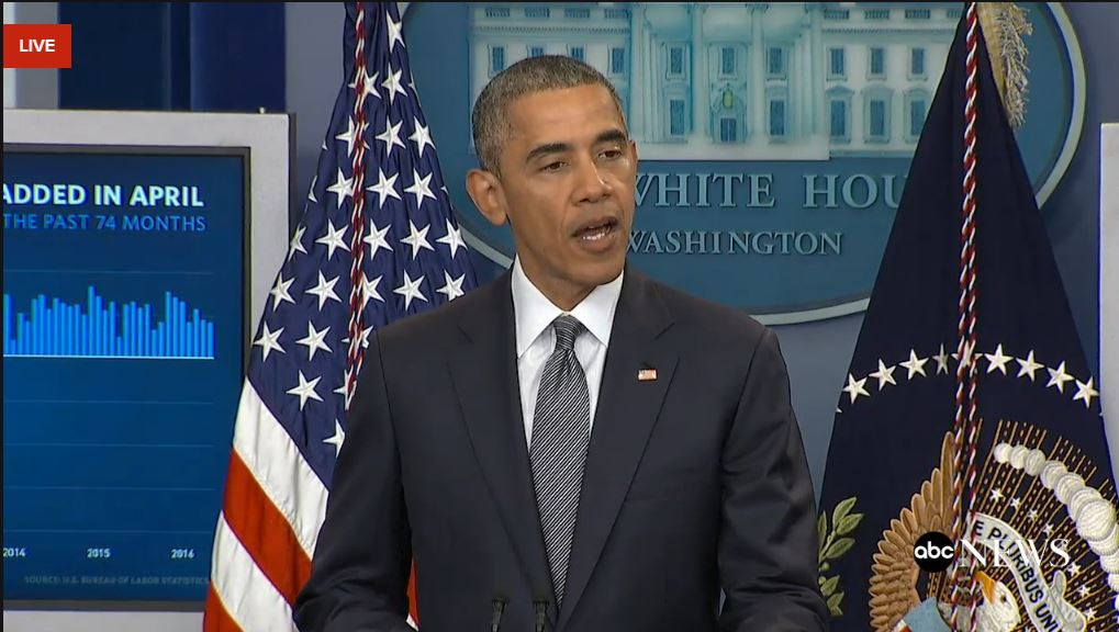 LIVE: President Obama remarks on the state of the economy