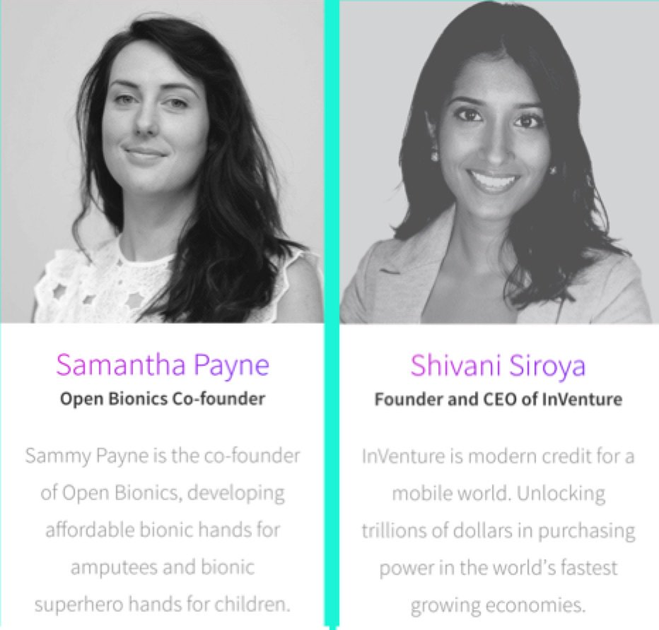 """Theme of #BigOmaha: Visionary, brilliant, enigmatic women w/ passion realign the meaning of the word """"entrepreneur"""" https://t.co/np3QaxrFl4"""
